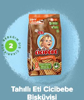 Tahıllı Eti Cicibebe Bisküvisi