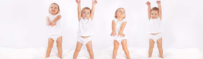 Dans Eden Bebeklerin Harika Figürleri