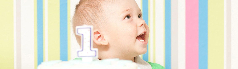 Bebeğinizin ve Anneliğinizin İlk Yaşı Kutlu Olsun!